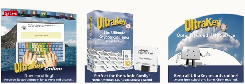 cover image ultrakey typing tutor