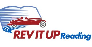 image of rev it up reading logo