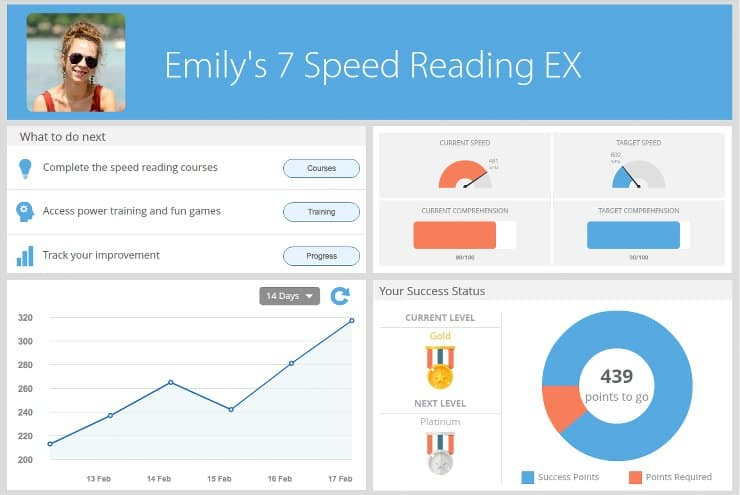 screenshot 7 speed reading software