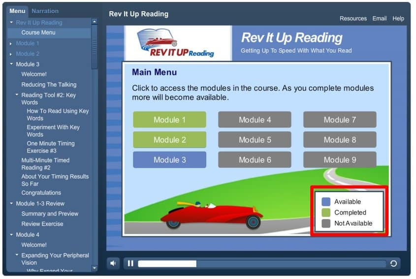 image of rev-it-up-reading-course