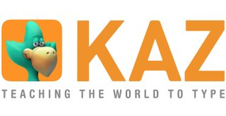 image of kaz-typing-logo