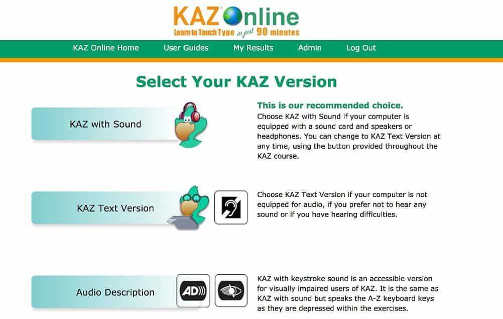 kaz-typing-tutor-SEN