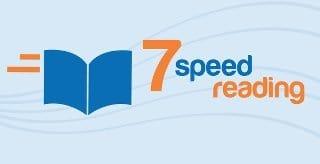 image of 7 Speed Reading Logo