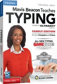 cover image of Mavis Beacon Typing - Family Edition