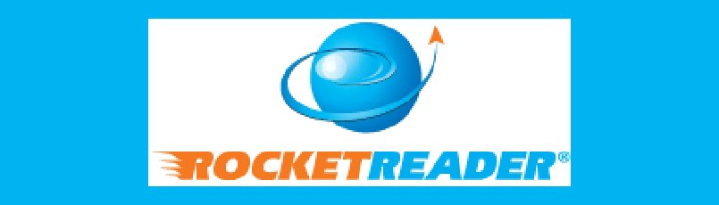 logo image of the rocketreader speed reading course