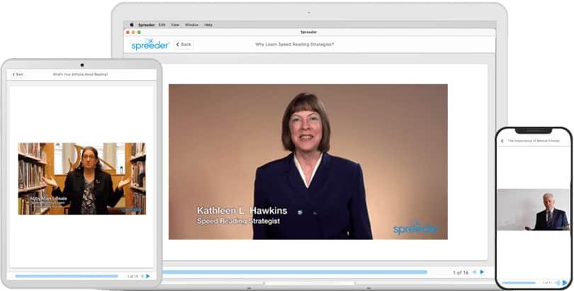 Image 7 Speed Reading - Spreeder Review  - Screenshot Video Tutorials