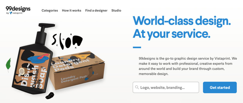 Image 99Designs Online Graphic Design Software