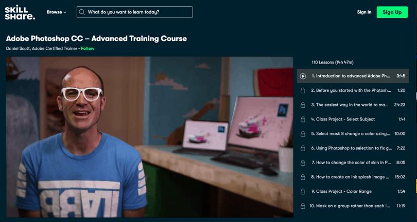 Image Best Photoshop Courses - Adobe Photoshop Advanced - Skillshare