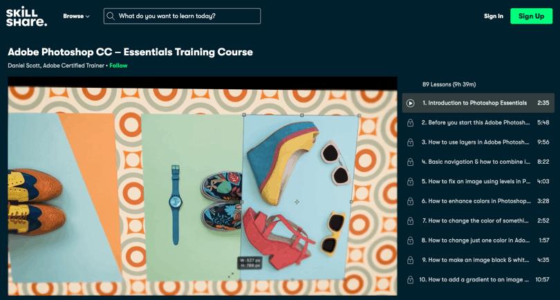 Image Best Photoshop Courses - Adobe Photoshop Beginner - Skillshare