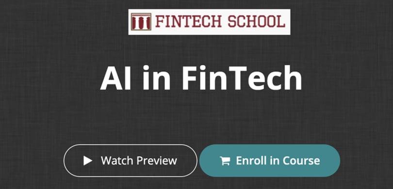 Image Fintech Courses - AI in Fintech - FINTECH School