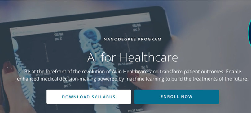 Image Best AI Courses - AI For Healthcare, Udacity