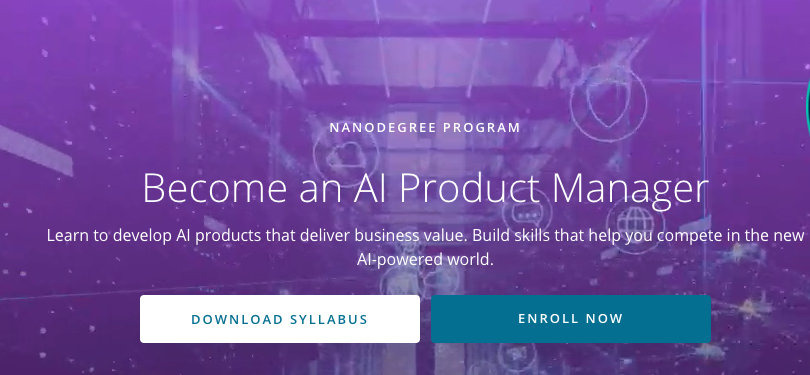 Image Best AI Courses - Become an AI Product Manager, Udacity
