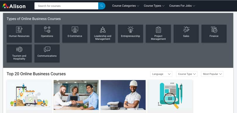 Image Category Alison Business Courses and Diplomas