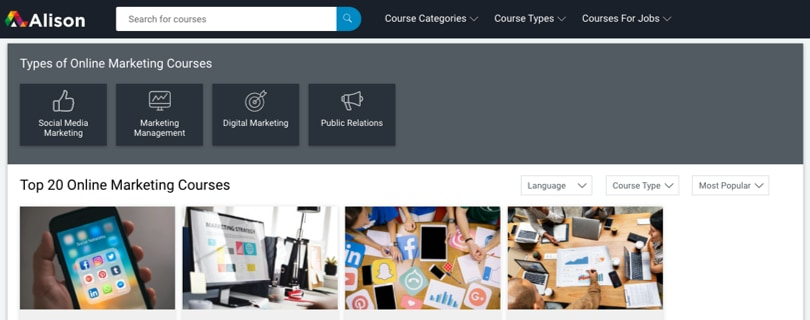 Image Category Alison Marketing Courses and Diplomas