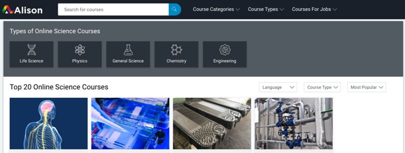 Image Category Alison Life-Science Courses and Diplomas