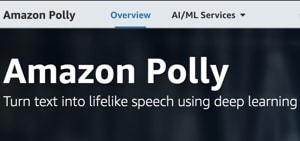 Image Text to Speech Software - Amazon Polly