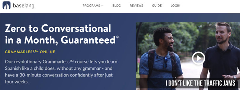 Image Baselang - Spanish Courses Online