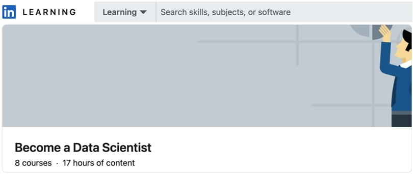 Image Data Science Courses - Become A Data Scientist, Linkedin