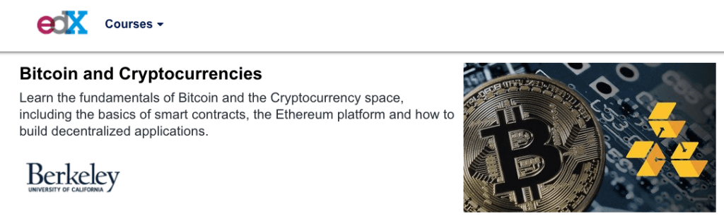 image berkeley bitcoin and cryptocurrency course - edX