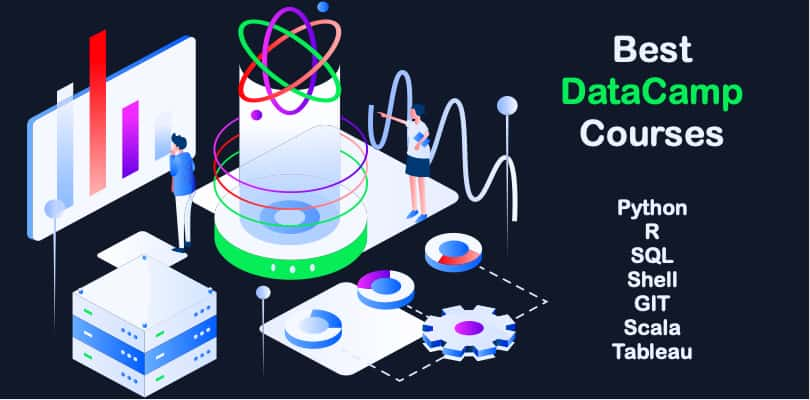 Image Best DataCamp Courses and SkillTracks - Become a Data Scientist