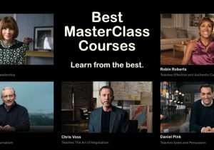 Image Best MasterClass Courses - Learn from the best.