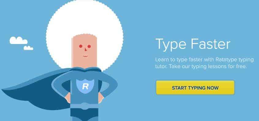 Image of Best Online Typing Program - RataType