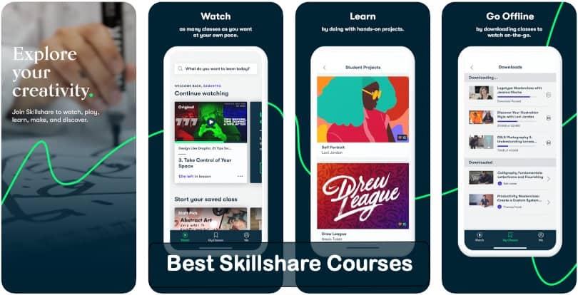 Image of Best Skillshare Courses 2021