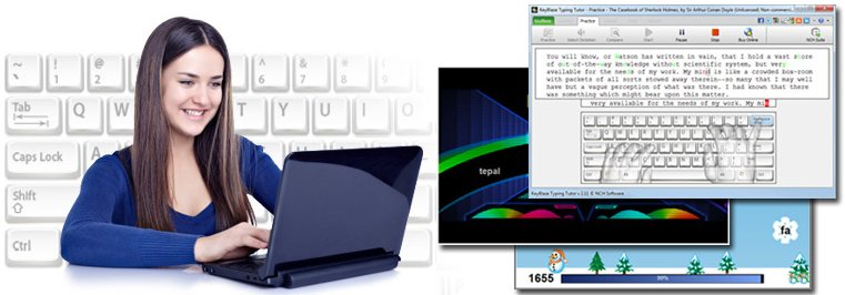 cover image typing software KeyBlaze