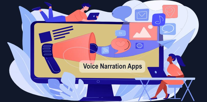 Image Best Voice Narration Apps For Mobile Content