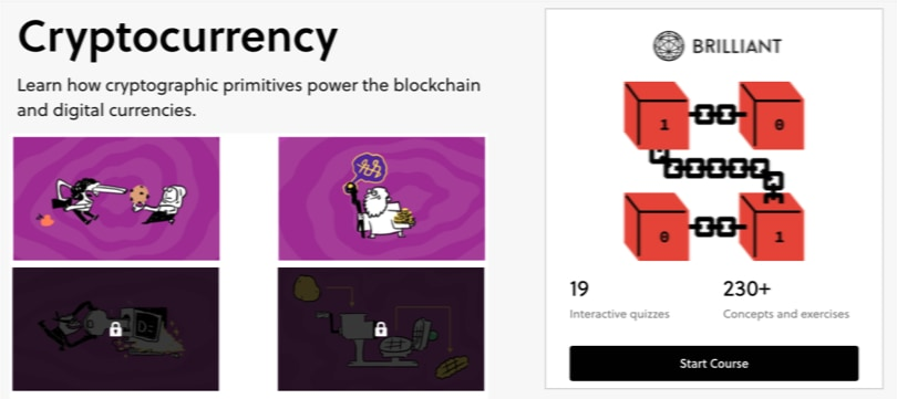 Image of Best Cryptocurrency Courses - Brilliant