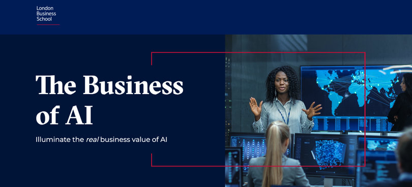 Image Best AI Courses - The Business of AI, London Business School