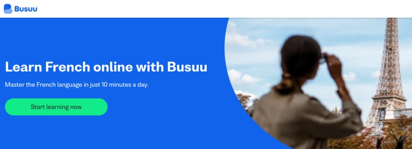 Image Busuu French Courses Online