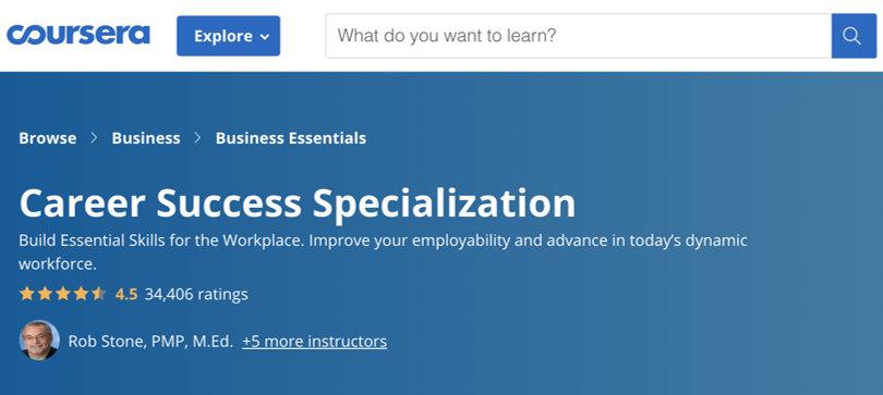 Image Best Personal Development Courses Coursera - Career Success