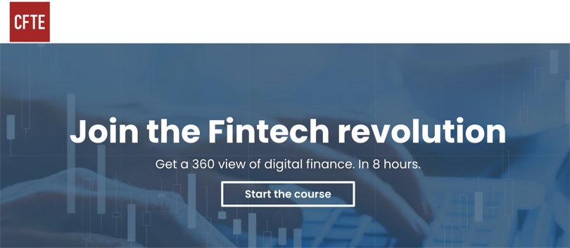 Image Best Fintech Courses - CFTE Fintech Revolution Specialization