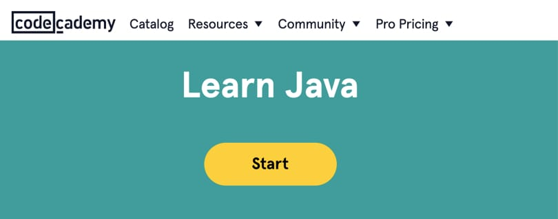 Image Java Courses Online - Learn Java, codecademy