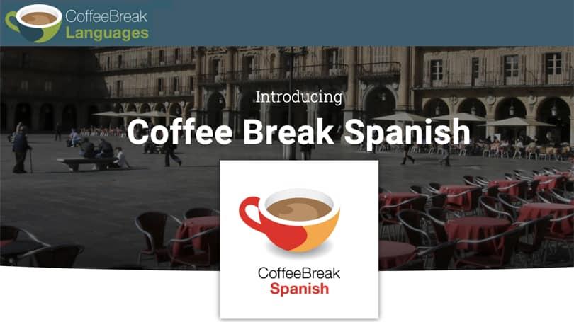 Image CoffeeBreak - Spanish Courses Online