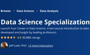 Image Coursera Specializations - Data Science