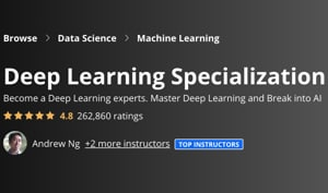 Image Coursera Specializations - Deep Learning