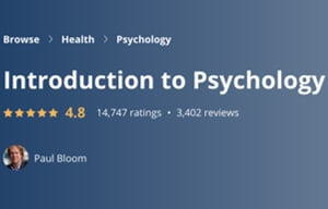 Image Best Coursera Courses - Introduction to Psychology