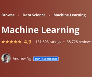 Image Best Coursera Courses - Machine Learning, Andrew Ng