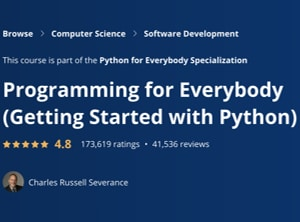 Image Best Coursera Courses - Programming for Everybody - Python