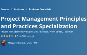 Image Coursera Specializations - Project Management Principles