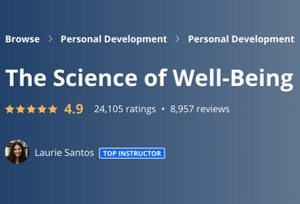 Image Best Coursera Courses - Science of well-being