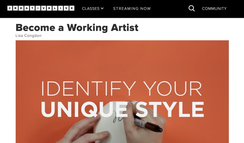 Image Best CreativeLive Courses - Become a working artist
