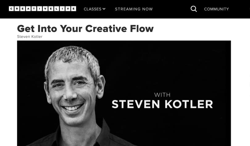 Image of Best CreativeLive Classes - Get into your creative flow
