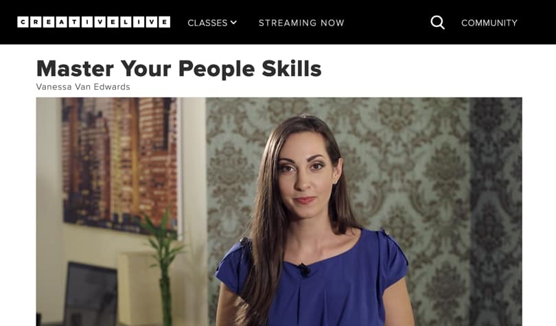 Image of Best CreativeLive Courses - Master Your People Skills