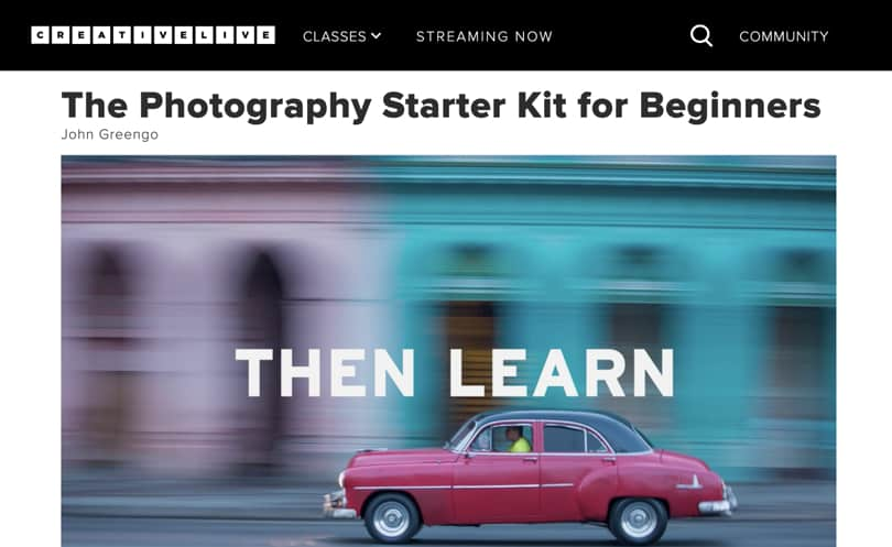 Image Best CreativeLive Courses - Photography Starter It Beginners