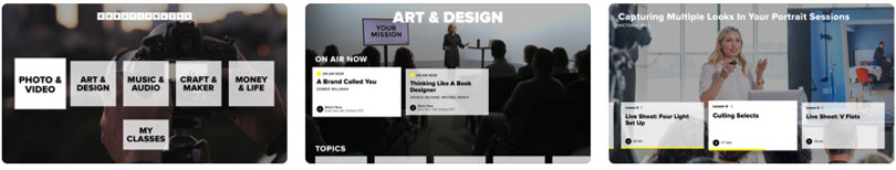 Image of CreativeLive Review - Screenshots Apple TV App