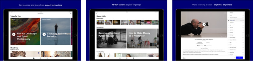 Image of CreativeLive Review - Screenshots iPad App