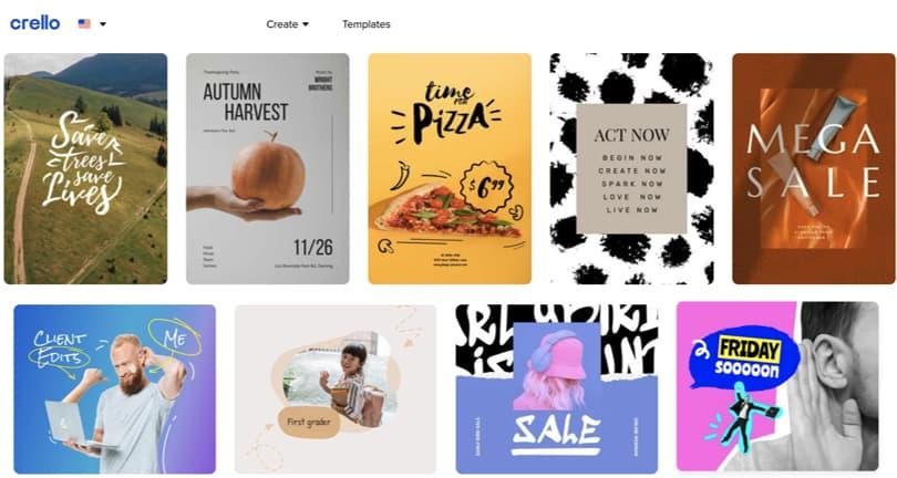 Image Crello Online Graphic Design Software